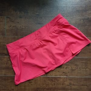 Lands' End Low Rise Sporty Swim Skirt Size 10